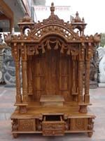 Find This Pin And More On Dream Home   Pooja Room. Wooden Carved Teakwood  Temple ...