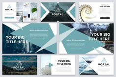Portal Modern Powerpoint Template by Reshapely on Portal is a Clean and easy to customize Powerpoint Template. Each of the images used are under the license and are included Affiliate ad link. Create Powerpoint Template, Ppt Template Design, Ppt Design, Creative Powerpoint, Slide Design, Keynote Template, Book Presentation, Presentation Templates, Change Picture