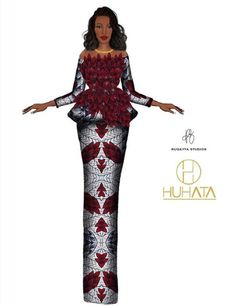 African Fashion Ankara, African Dresses For Women, African Print Fashion, African Attire, African Fashion Traditional, African Inspired Clothing, African Print Dress Designs, Fashion Illustration Dresses, Sketches