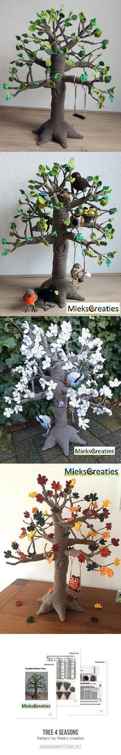 Mesmerizing Crochet an Amigurumi Rabbit Ideas. Lovely Crochet an Amigurumi Rabbit Ideas. Crochet Fairy, Crochet Tree, Crochet Birds, Crochet Flower Patterns, Love Crochet, Crochet Animals, Crochet Crafts, Crochet Flowers, Crochet Projects