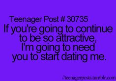 Yeah, Luke Hemings I guess you will just have to start dating me it's only logical ;)