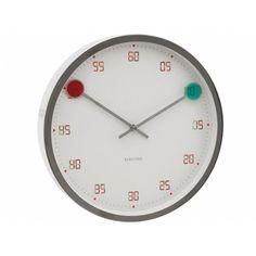 Настенные часы Karlsson Magic - купить в Москве, Санкт-Петербурге (СПБ), Екатеринбурге и других городах в интернет магазине с доставкой   Интернет-магазин EnjoyMe : Часы по низким ценам   Все для декора и дизайна интерьера на InMyRoom.ru