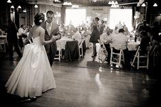 Our first dance to L-O-V-E. #wedding