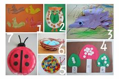Woodland Crafts for Kids (preschool)