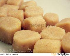 Bramborové noky s lahůdkovým droždím