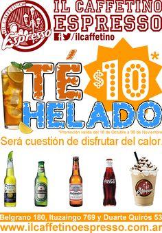 LA super promo! Té Helado con Naranja o Limón a $10