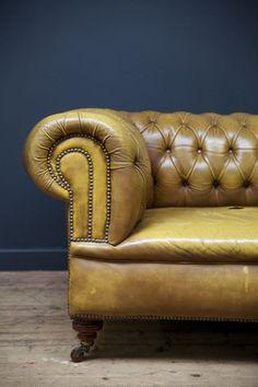 Chesterfield sofa / Drew Pritchard