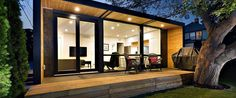 Canadian company HonoMobo specializes in building ultra-green, ultra swanky shipping container homes that can be shipped anywhere in North America.