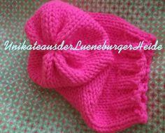 XXL Beaniemütze .. neon-pink ... Warnmütze von KiKiWanda auf DaWanda.com