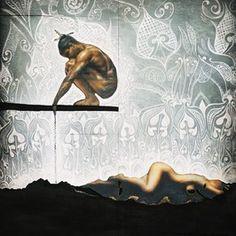 Maori folklore The Warrior and The Lover, Maori Patterns, Polynesian Art, New Zealand Art, Nz Art, Maori Art, Indigenous Art, Sculpture Art, Metal Sculptures, Abstract Sculpture