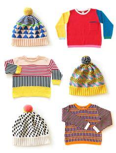 Kolorowe zygzaki ALL Knitwear — Ola Nagel Pretty Outfits, Stylish Outfits, Kids Outfits, Knitting For Kids, Baby Knitting, Fashion 2020, Kids Fashion, Cool Sweaters, Diy Clothes
