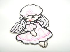 Angel Girl Doll Embroidered Iron On Sew Patch Applique by LoveLaly