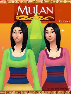 Mulan dress by NANA at Nolween via Sims 4 Updates