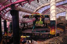 The Adventuredome is a 5-acre indoor amusement park located at Circus Circus in Las Vegas, Nevada on the Las Vegas Strip. The park offers 25 rides and attractions and is connected to the hotel Circus Circus.