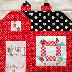 dream quilt create: The Quilty Barn Along #4