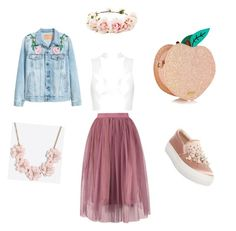 """Untitled #2"" by prokopyeva-katya on Polyvore featuring Steve Madden, J.Crew, Topshop and Forever 21"
