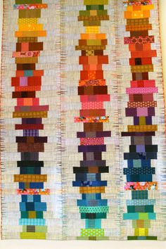 Wall quilt by Wendy Hill