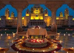 Ten Best Places to get married - Umaid Bhawan Palace my dream wedding location