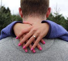 18 Unique Engagement Announcement Ideas from Instagram via Brit + Co