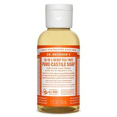 Dr Bronners Organic Castile Liquid Soap Liquid Tree Tea 2 Ounce * To view further for this item, visit the image link.