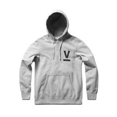 Overview  Reigning Champ and Victory Journal present the 'Contributor Collection,' a uniform for creatives at the intersection of sport and culture. This classic hoodie is handcrafted in Canada from Midweight Terry, and features a Victory screen print on the left chest.  Info   Victory screen print Flatlocked seams Set-in / raglan sleeves Premium rib cuffs and waist Premium rib side panels Rib bound front patch pocket Tonal woven drawcord Rib lined hood Bartack reinforcements Co-branded ...