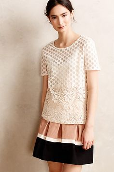 Lace Cercle Tee - anthropologie.com #anthrofave