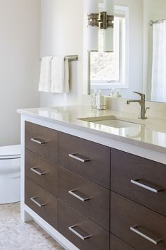 contemporary vanity