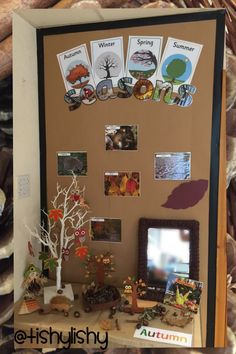 Autumn display in my fs2 class using Twinkl resources.