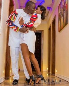 The most classic collection of beautiful traditional and ankara styles and designs for couples. These ankara styles collections are meant for beautiful African ankara couples Couples African Outfits, African Clothing For Men, Couple Outfits, African Attire, African Wear, African Women, Children Clothing, African Beauty, Latest African Fashion Dresses
