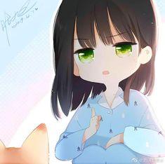 Cute Anime Chibi, Kawaii Chibi, Kawaii Anime Girl, Anime Art Girl, Anime Couples Drawings, Anime Couples Manga, Anime Guys, Manga Anime, Anime Angel