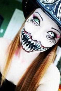 Badass Halloween makeup