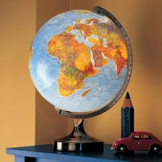Illuminated World Lamp  | The Land of Nod