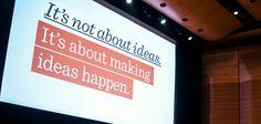 99U - Insights on making ideas happen