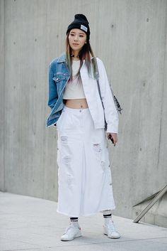 Street style: Irene Kim at Seoul Fashion Week Spring 2015 shot by Alex Finch