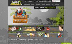 Loco Jungle Casino also offers very exciting Progressive jackpots games >> jackpotcity.co/i/119.aspx