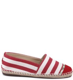 ESPADRILLE STRIPES RED