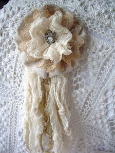 newest rosette on my etsy by skblanks, via Flickr