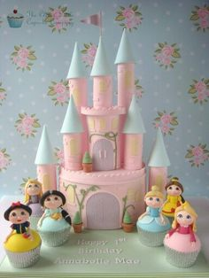 All the princesses cake