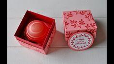 Tutorial: Eos Lippenpflege verpacken mit Stampin' Up!