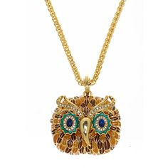 Kenneth Jay Lane, Owl Necklace