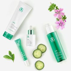 Watch your skin go from touchy to touchable with Calm. #Arbonne