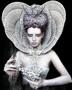 'The White Queen' by Kirsty Mitchell.