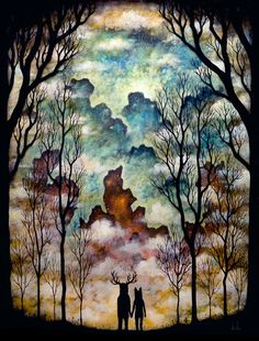 Art / Together at the Threshold by andykehoe on Etsy, $70.00