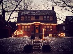 Merry Christmas To All! Merry Christmas To All, Cabin, Mansions, Street, House Styles, Home Decor, Decoration Home, Merry Christmas To Everyone, Room Decor