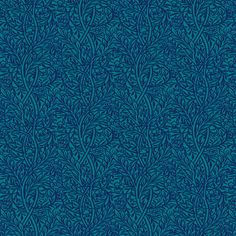Kingfisher Blue Peacock Vine fabric by amyvail on Spoonflower - custom fabric.  Elegant in silky faille, perfect for a formal dress or skirt.