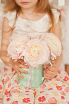 Girl with flowers by Galina Kochergina on 500px