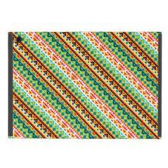 Cute colorful aztec patterns design iPad mini case - pattern sample design template diy cyo customize