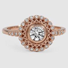 18K White Gold Alvadora Diamond Ring