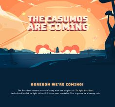 Casumo - Boredom busters on Behance
