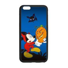 Halloween Mickey Holding A Pumpkin Case for iPhone 6 Plus
